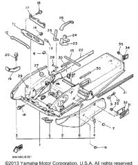 1988 Yamaha BRAVO (BR250M) OEM Parts, Ronnie's Mail Order