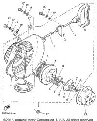 1988 Yamaha BRAVO (BR250M) OEM Parts, Babbitts Online