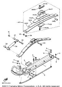 1988 Yamaha ENTICER 340T (LONG TRACK) (ET340TM) OEM Parts