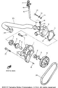 1988 Yamaha EXCITER (EX570M) OEM Parts, Babbitts Online