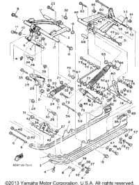 1988 Yamaha SRV (SR540M) OEM Parts, Babbitts Online