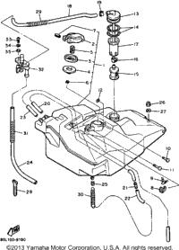 1989 Yamaha OVATION (CS340N) OEM Parts, Babbitts Online