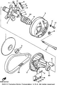 1989 Yamaha OVATION (CS340N) OEM Parts, Babbitts Yamaha