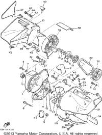 1989 Yamaha PHAZER (PZ480N) OEM Parts, Babbitts Yamaha