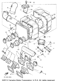 1990 Yamaha PHAZER II (PZ480P) OEM Parts, Babbitts Online
