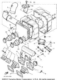1991 Yamaha PHAZER II ST (PZ480STR) OEM Parts, Babbitts