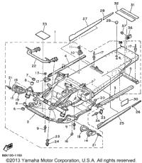 1991 Yamaha PHAZER II ST (PZ480STR) OEM Parts, Ronnie's