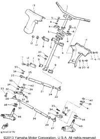 1991 Yamaha VK540 (VK540ER) OEM Parts, Babbitts Yamaha