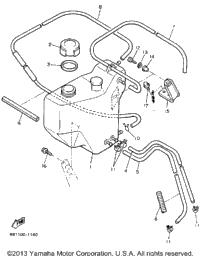 1991 Yamaha VENTURE XL (VT480R) OEM Parts, Babbitts Online
