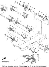 1991 Yamaha VENTURE XL (VT480R) OEM Parts, Ronnie's Mail Order