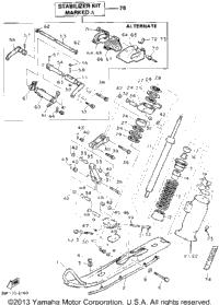 1992 Yamaha PHAZER II (PZ480S) OEM Parts, Babbitts Online