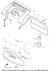 1992 Yamaha VENTURE XL (VT480S) OEM Parts, Babbitts Yamaha