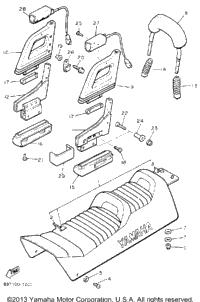 1992 Yamaha VENTURE XL (VT480S) OEM Parts, Babbitts Online