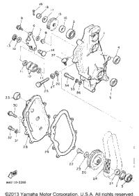 1993 Yamaha PHAZER II LE (ELEC START) (PZ480ET) OEM Parts
