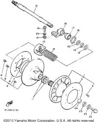 1993 Yamaha PHAZER II (PZ480T) OEM Parts, Babbitts Yamaha