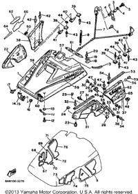1993 Yamaha VENTURE XL (VT480T) OEM Parts, Babbitts Online