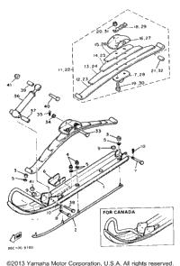 1994 Yamaha BRAVO LT (BR250TU) OEM Parts, Babbitts Online