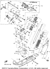 Yamaha Phazer Engine Diagram, Yamaha, Free Engine Image