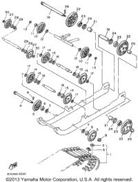 1996 Yamaha PHAZER II LE (ELEC START) (PZ480EW) OEM Parts