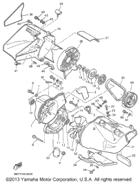 1996 Yamaha PHAZER II (PZ480W) OEM Parts, Babbitts Online
