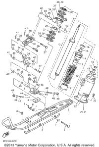 1996 Yamaha VENTURE TR (VT480TRW) OEM Parts, Babbitts Online