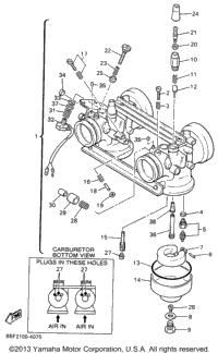 1996 Yamaha VENTURE XL (VT480W) OEM Parts, Babbitts Online