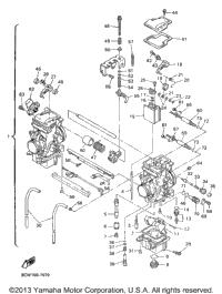 1997 Yamaha MOUNTAIN MAX 700 (MM700A) OEM Parts, Babbitts