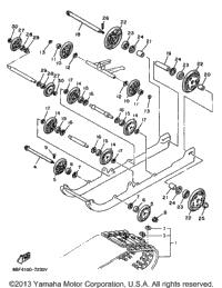 1997 Yamaha PHAZER SS ELECTRIC (PZ480EA) OEM Parts