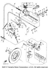 1997 Yamaha VENTURE 500 (VT500A) OEM Parts, Babbitts Online