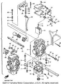 1997 Yamaha VMAX 700 SX (VX700SXA) OEM Parts, Babbitts Online