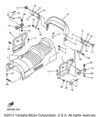 1998 Yamaha VENTURE 600 (VT600B) OEM Parts, Babbitts Online
