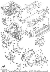1999 Yamaha PHAZER 500 (PZ500C) OEM Parts, Babbitts Online