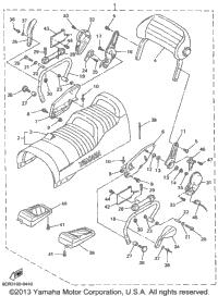 1999 Yamaha VENTURE 500 XL (VT500XLC) OEM Parts, Ronnie's