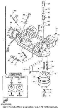 1999 Yamaha VENTURE 500 XL (VT500XLC) OEM Parts, Babbitts