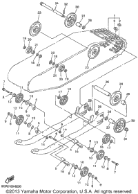 1999 Yamaha VMAX 500 SX (VX500SXBC) OEM Parts, Babbitts Online