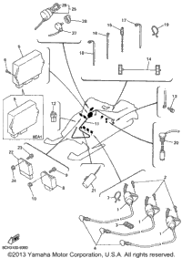1999 Yamaha VMAX 700 SX (VX700SXBC) OEM Parts, Babbitts Online