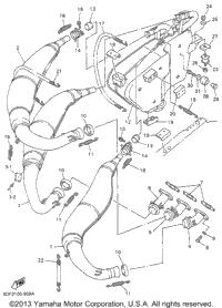 2000 Yamaha SRX700 (SRX700D) OEM Parts, Babbitts Online