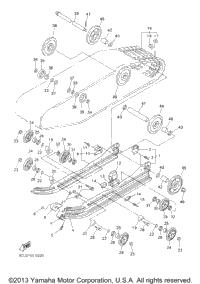 2001 Yamaha PHAZER 500 (PZ500F) Alternate Reverse Gear Kit
