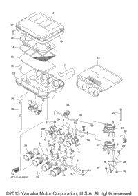 2003 Yamaha RX-1 (RX10H) OEM Parts, Babbitts Online