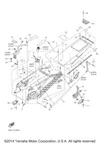 2014 Yamaha SRVIPER XTX_SE (SR10XSEL) OEM Parts, Ronnie's
