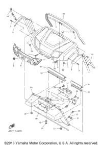 2004 Yamaha PRO HAULER 1000 (YXP1000AS) OEM Parts