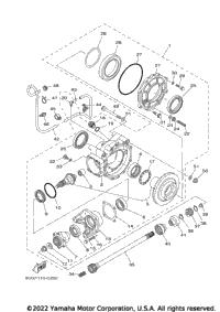 2005 Yamaha RHINO (YXR660FAT) OEM Parts, Babbitts Yamaha