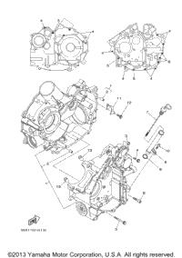 2008 Yamaha RHINO 700 FI (YXR70FXGR) OEM Parts, Babbitts