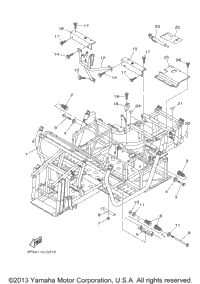 2009 Yamaha RHINO 450 (YXR45FYR) OEM Parts, Babbitts