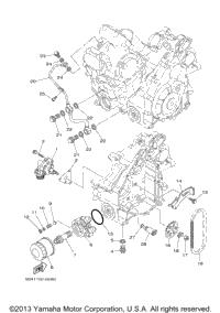 2009 Yamaha RHINO 700 FI (YXR7FYGR) OEM Parts, Babbitts