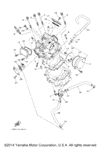 2014 Yamaha VIKING 700 (YXM700DEG) OEM Parts, Ron Ayers