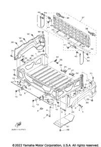 2015 Yamaha VIKING VI EPS SE (YXC700PSFS) OEM Parts