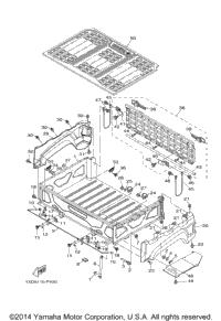 2015 Yamaha VIKING EPS (YXM700PFG) OEM Parts, PartsPitstop.com