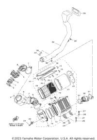 2016 Yamaha WOLVERINE R-SPEC HUNTER (YXE70WDHGH) Exhaust