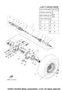2016 Yamaha WOLVERINE R-SPEC (YXE70WDXGG) OEM Parts, Cycle